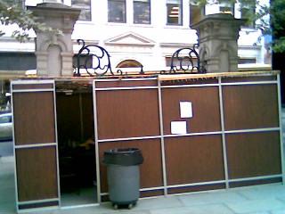 Sukkah in Downtown Boston