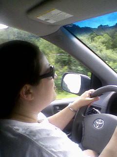Rachel Driving