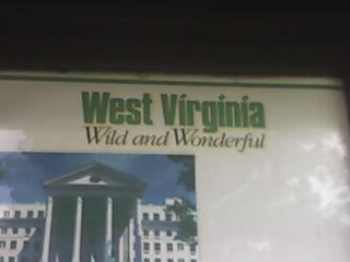 Rest Stop in West Virginia