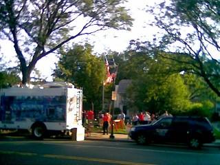 Fox 25 News Zip Trip to Brookline Photo #1