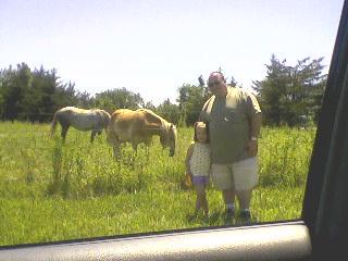 Josh, Emma, and Horses