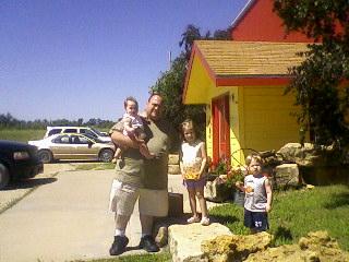 Josh, Rosa, Emma, and Noah