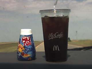 McDonald's Coffee and Milk