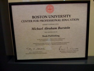 Certificate in Publishing