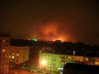 Пожары в Нижегородской области