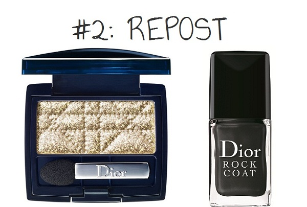 Dior - golden spotlight