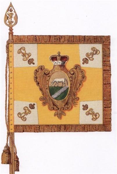знамя Павлоградского гусарского полка