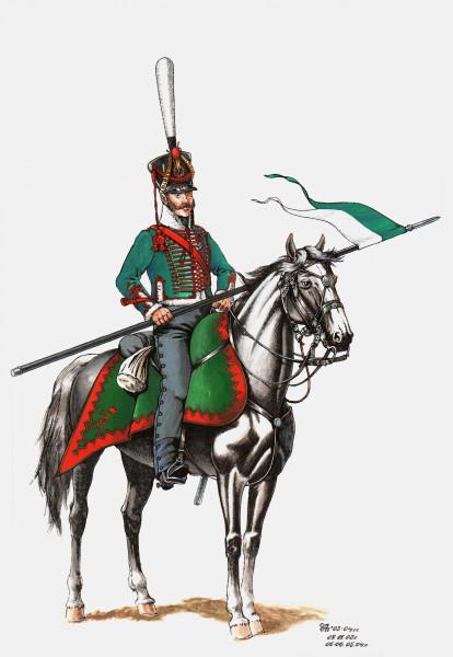 11 павлоградский гусар 1812