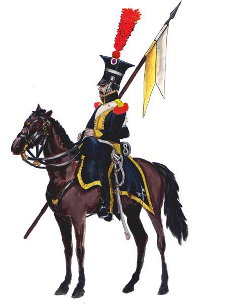 польский шевалежер 8 полк