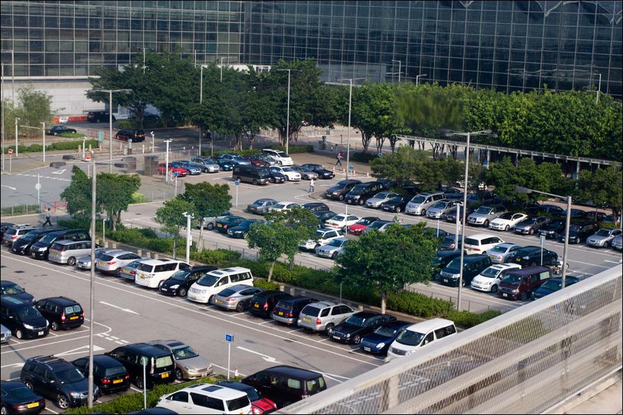Аккуратная парковочка