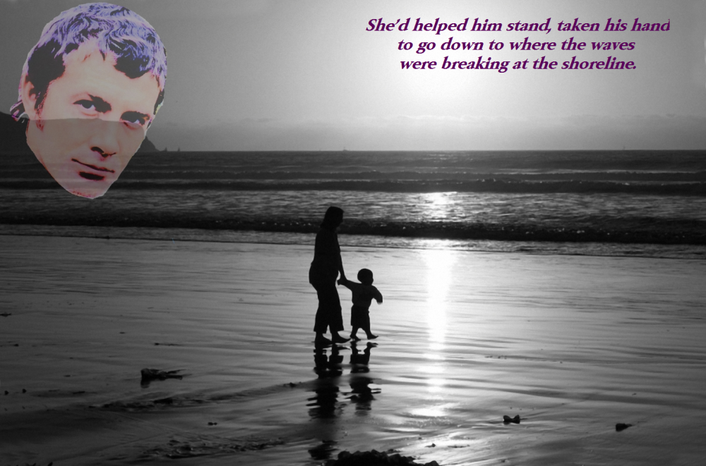 He remembers his mother
