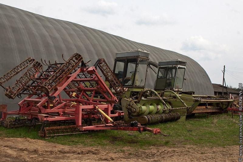 Хранение сельскохозяйственной техники в ссср фото