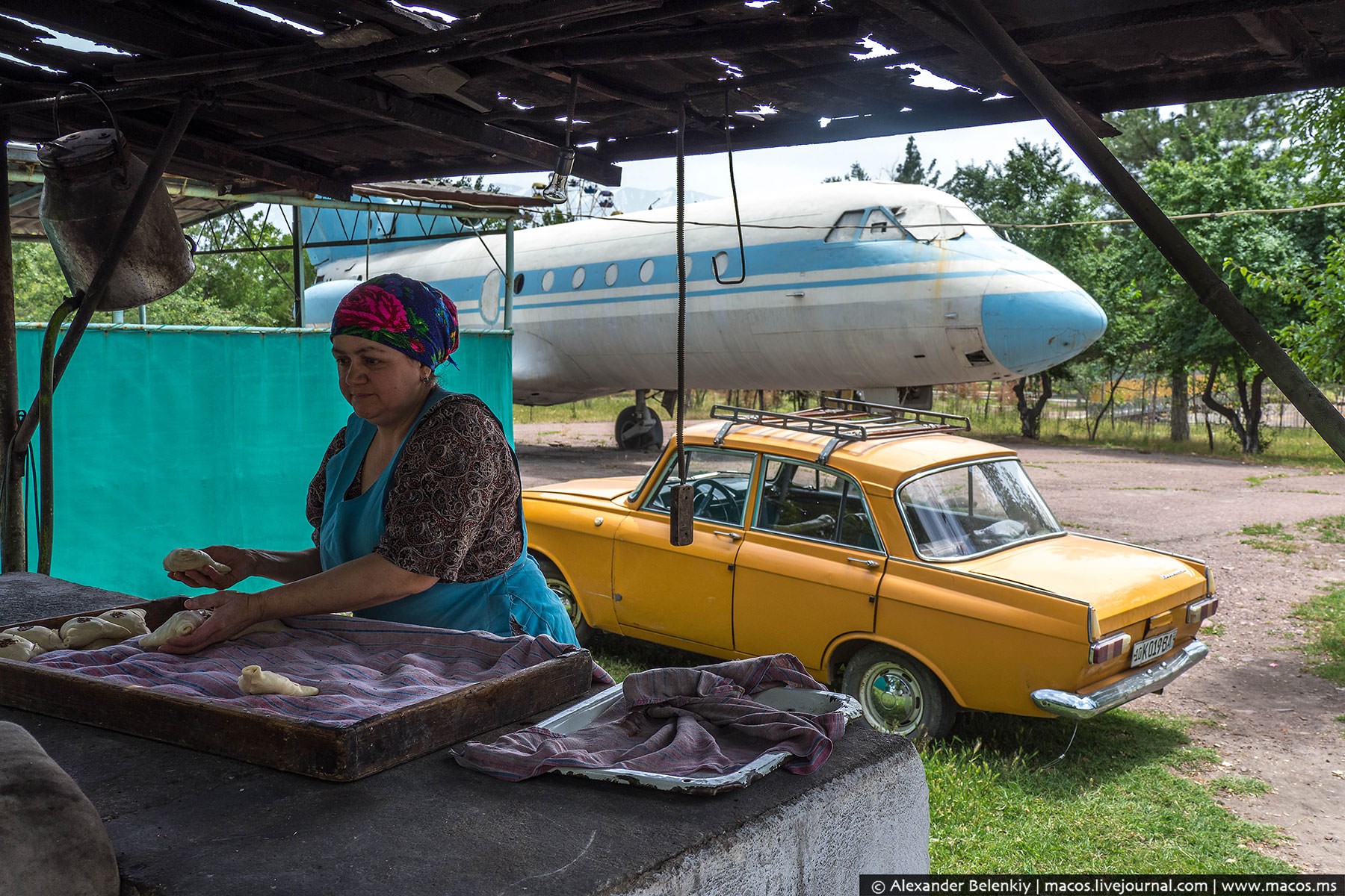 Жизнь после смерти. Что узбеки сотворили с самолётами-памятниками