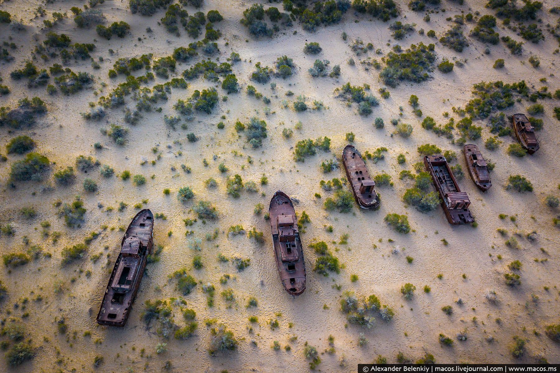 Подонки и жертвы Аральского моря. Как живут на месте катастрофы фото
