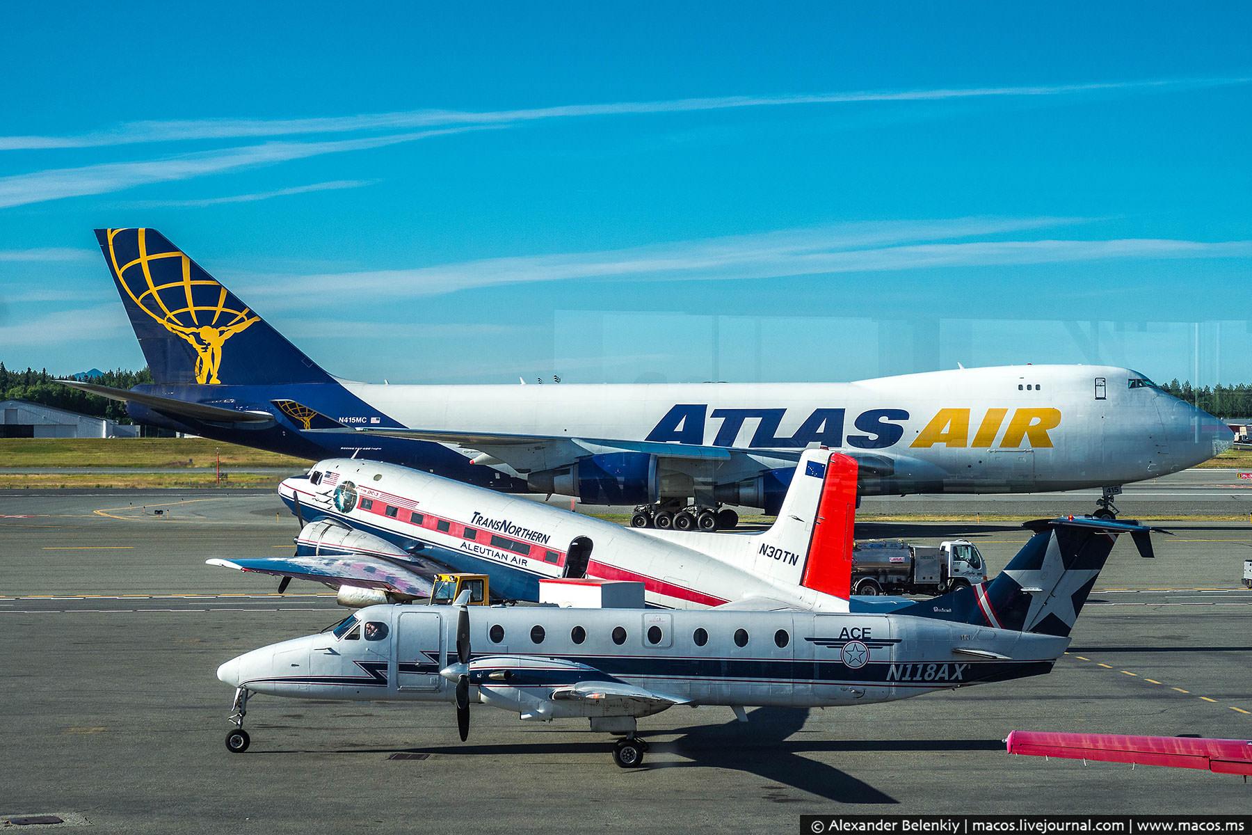 «Сейчас вылетишь в два счета!» Бесконтрольные аэропорты Аляски