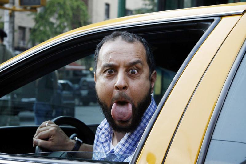 Московские таксисты опозорили страну