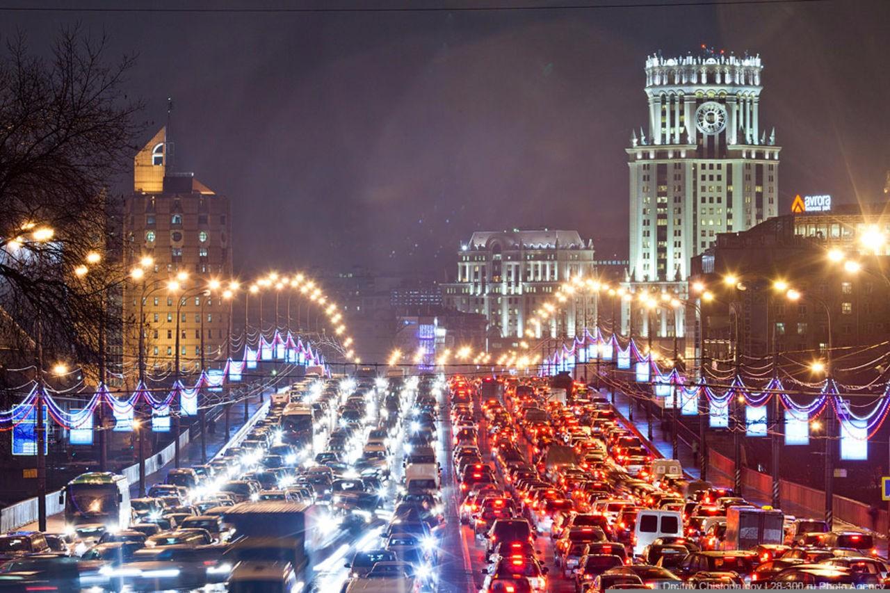 Москва - чемпион мира по пробкам