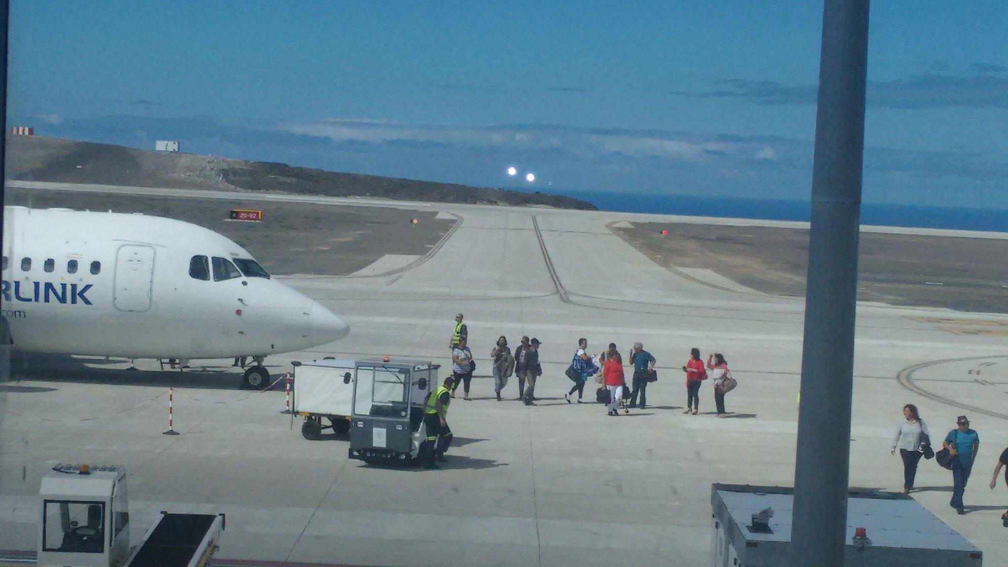 Самый бесполезный аэропорт мира принял первый самолёт