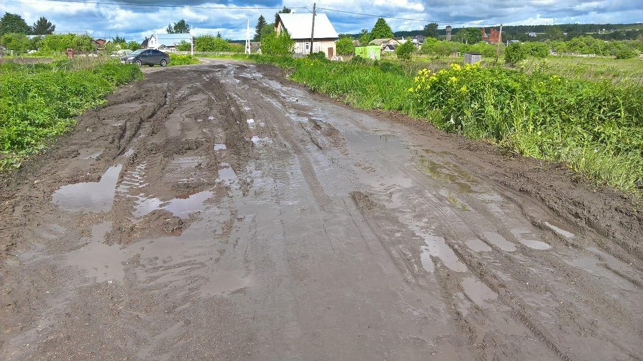 В Рязани отремонтировали дорогу навозом