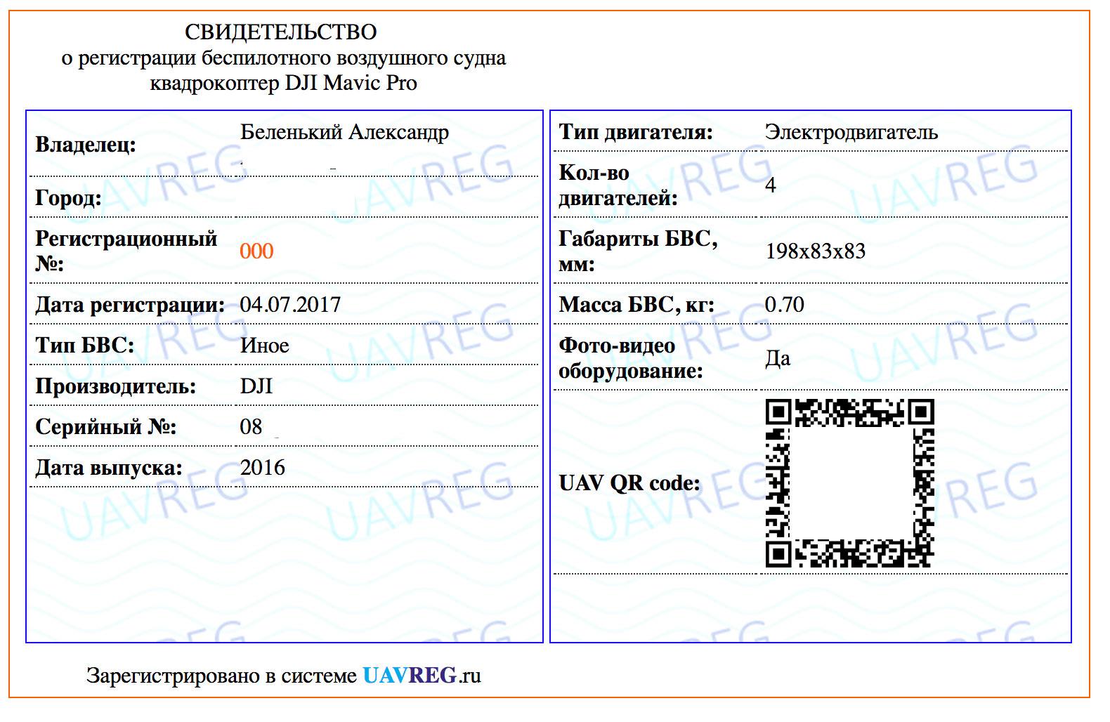 Нужно ли регистрировать дроны в россии купить спарк в хасавюрт