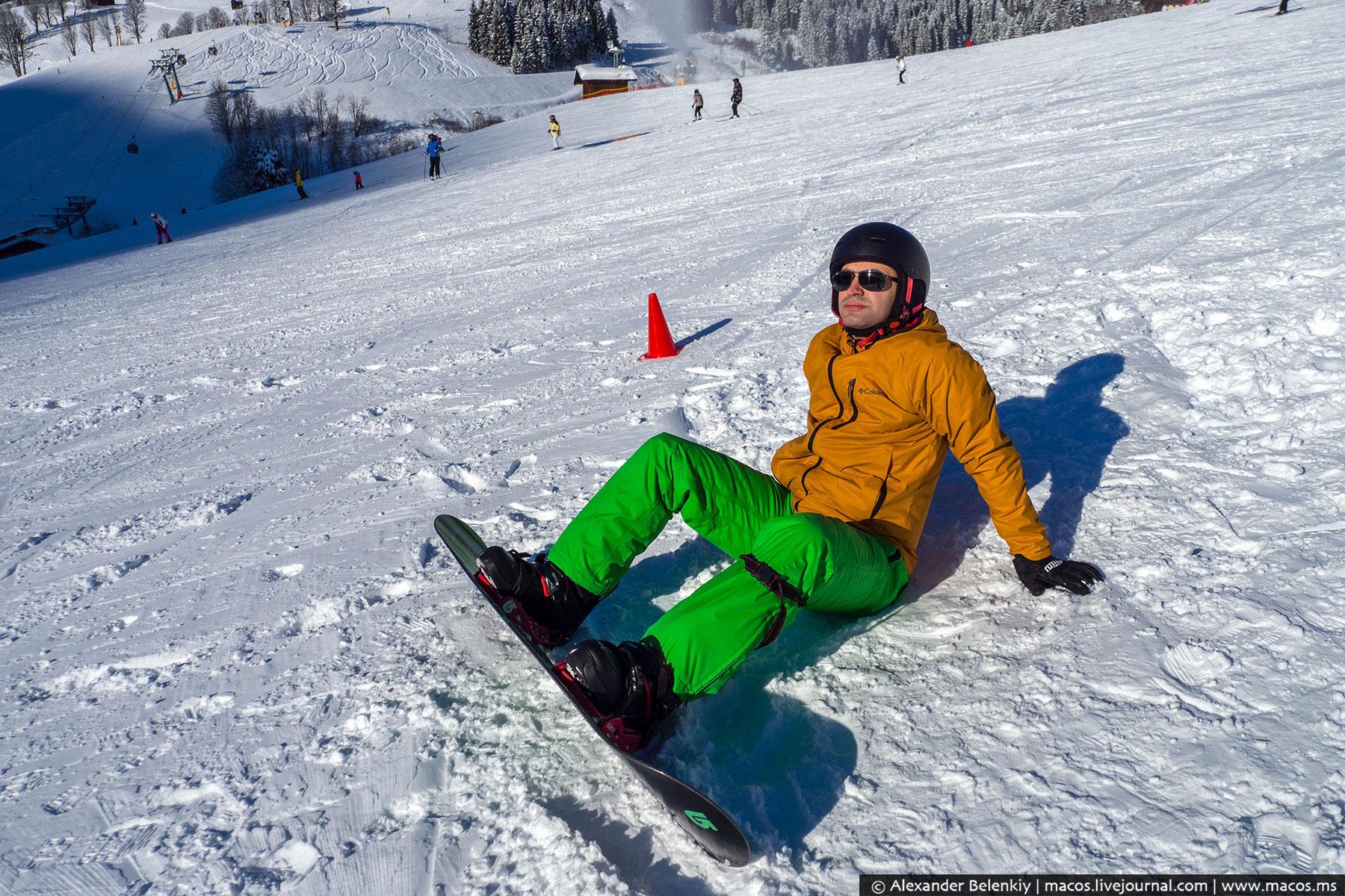 Как я собирался встать на лыжи, а сел на сноуборд