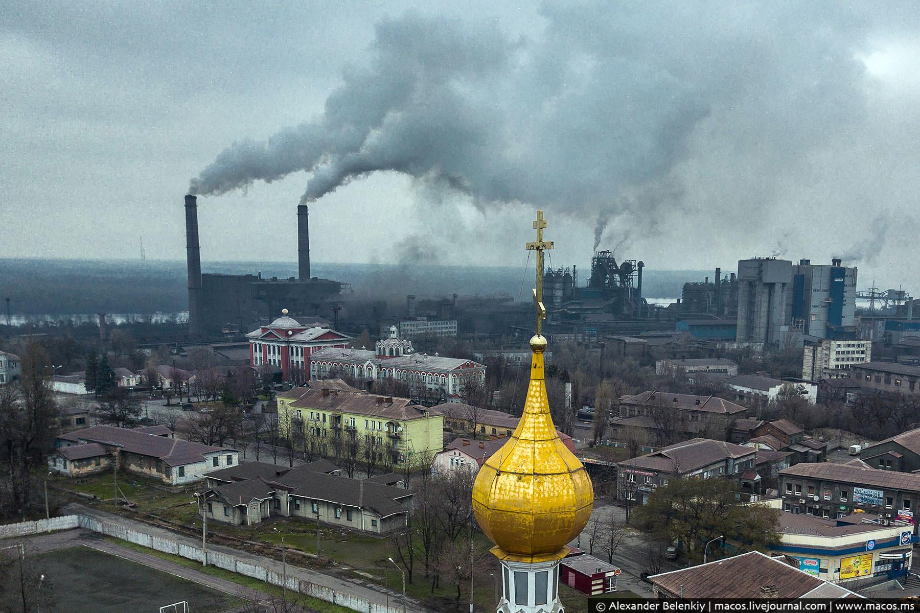 Самый суровый город Украины даёт Челябинску прикурить