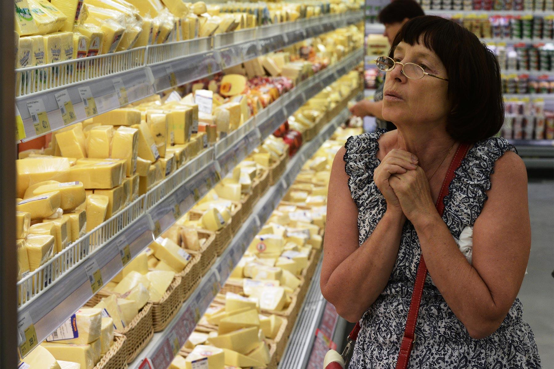 В России отвратительный сыр, а виноваты хохлы?