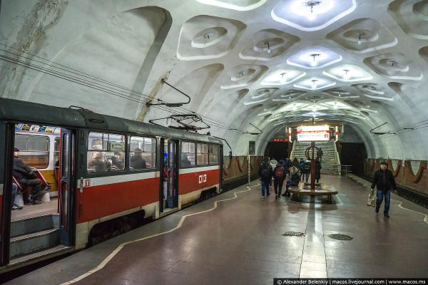 Прямой трамвай Кривого Рога
