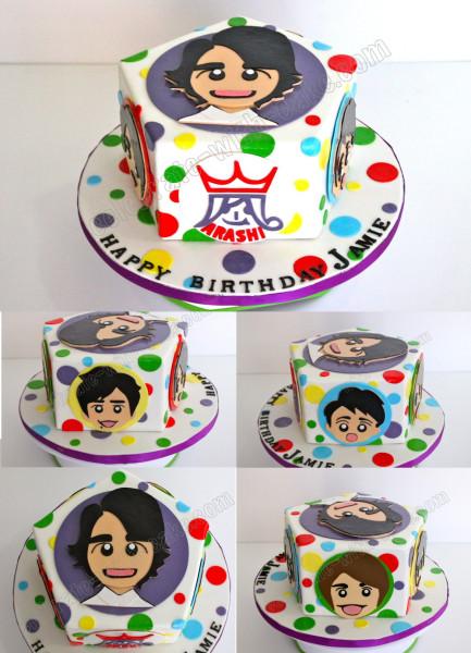 arashi cake