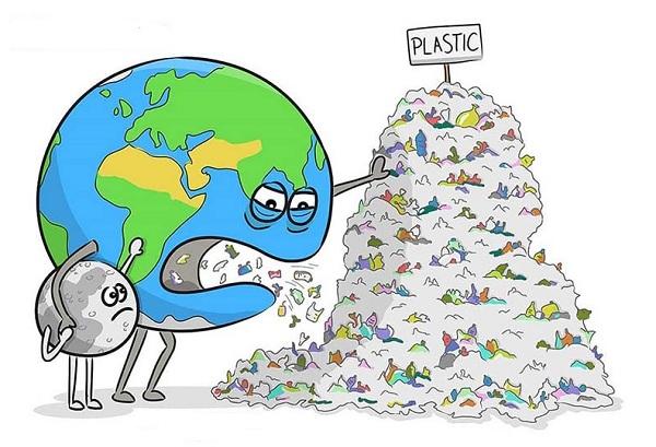 Землю тошнит от переизбытка пластика