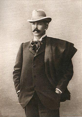 Константин Алексеев в роли доктора Штокмана в пьесе Генрика Ибсена «Враг народа», 1900 год