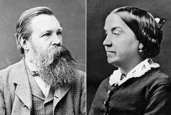 Фридрих Энгельс и Лиззи Бернс