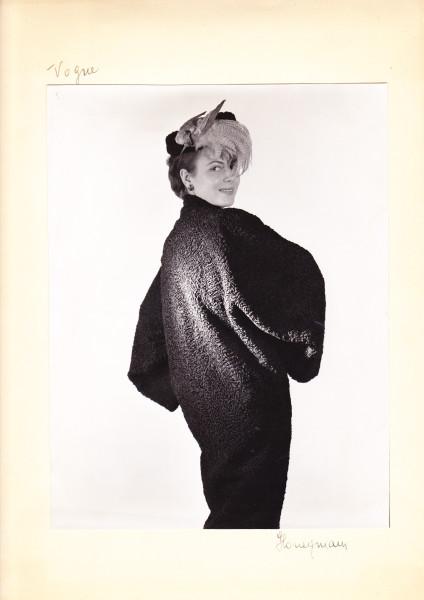 Баннер. Vogue 1955