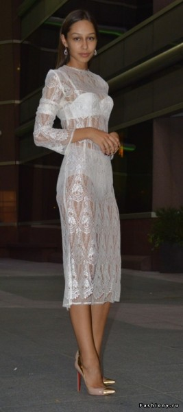 Вечернее платье на выход