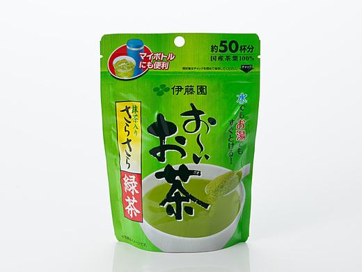Порошковый зеленый чай матча