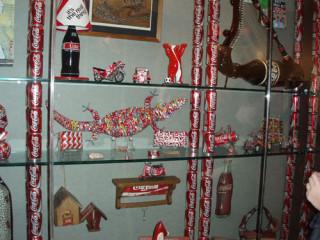 Coke in pop art: