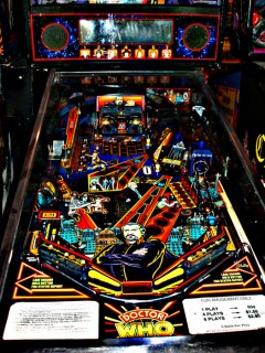 Doctor Who Pinball Close up