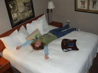 Biggest hotel room ever.