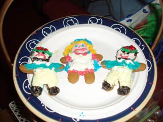 McAmason's Mom's Wonderland inspired cookies.