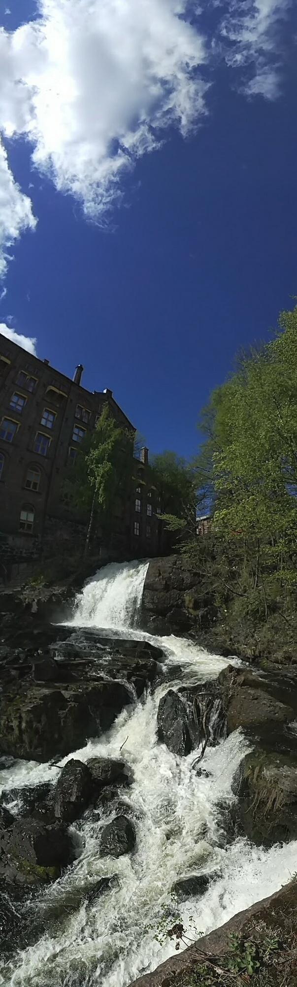 осло водопад