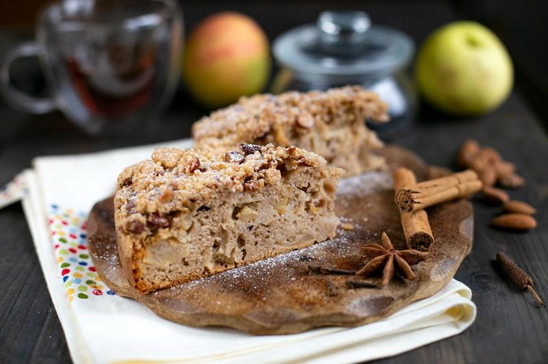 Пряный яблочный пирог Делии Смит