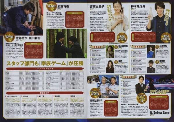77th drama academy awardees