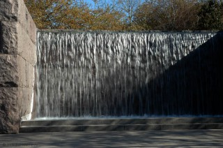 Waterfall, First Term Room, FDR Memorial