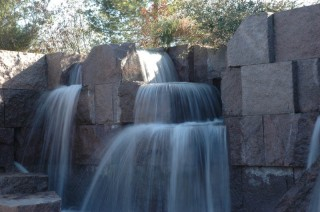 Waterfall, Exit of FDR Memorial