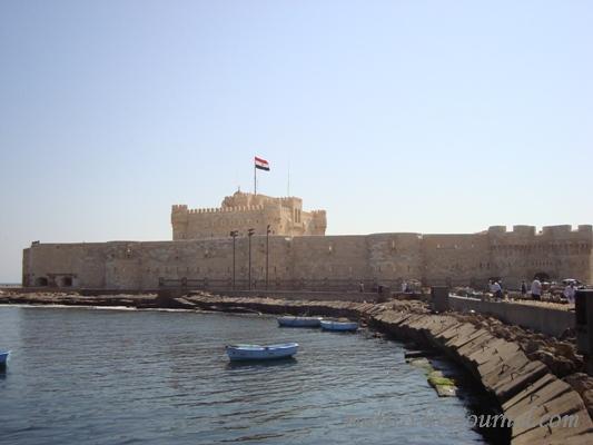 Александрийская крепость на острове Фарос