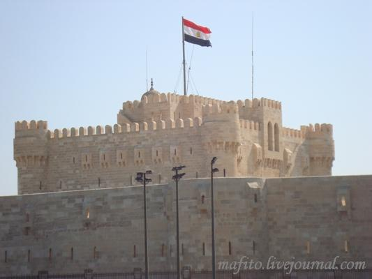 Александрийская крепость на острове Фарос.