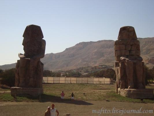 Самые большие статуи в Египте