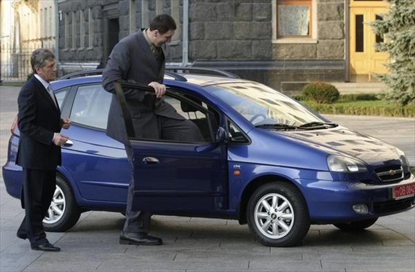 автомобиль Леонида Стадника