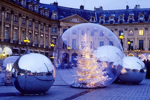 Christmas in the Place Vendome, Paris