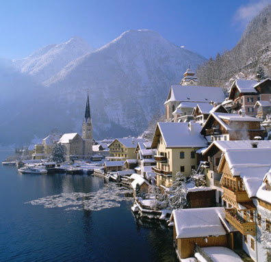 Winter's Day, Hallstatt, Austria